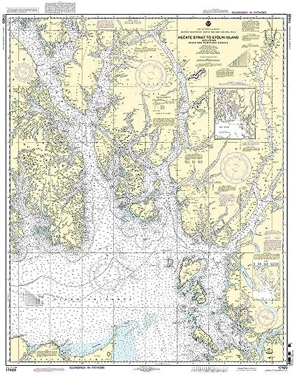 Amazon.com: 17420 -- Hecate Strait a etolin Isla, incluyendo ...