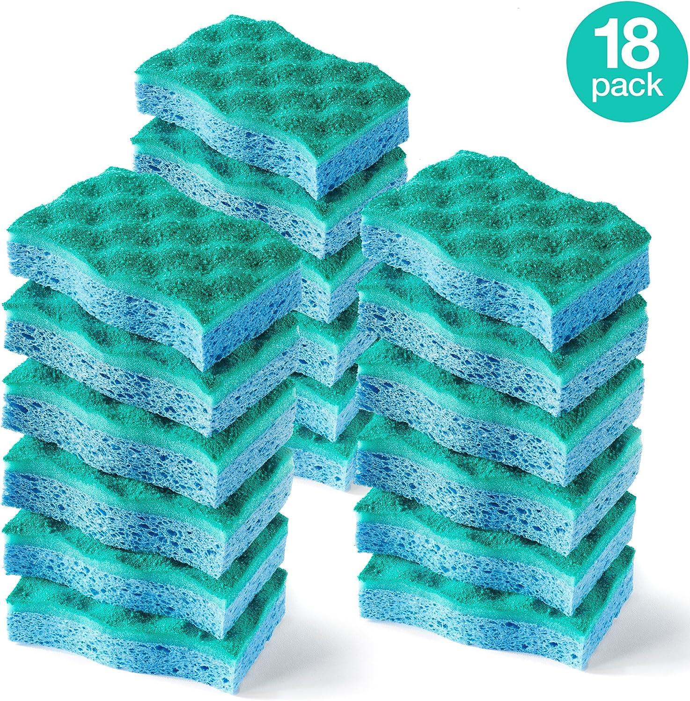 O-Cedar Multi-Use Scrunge Scrub Sponge (Pack - 18)