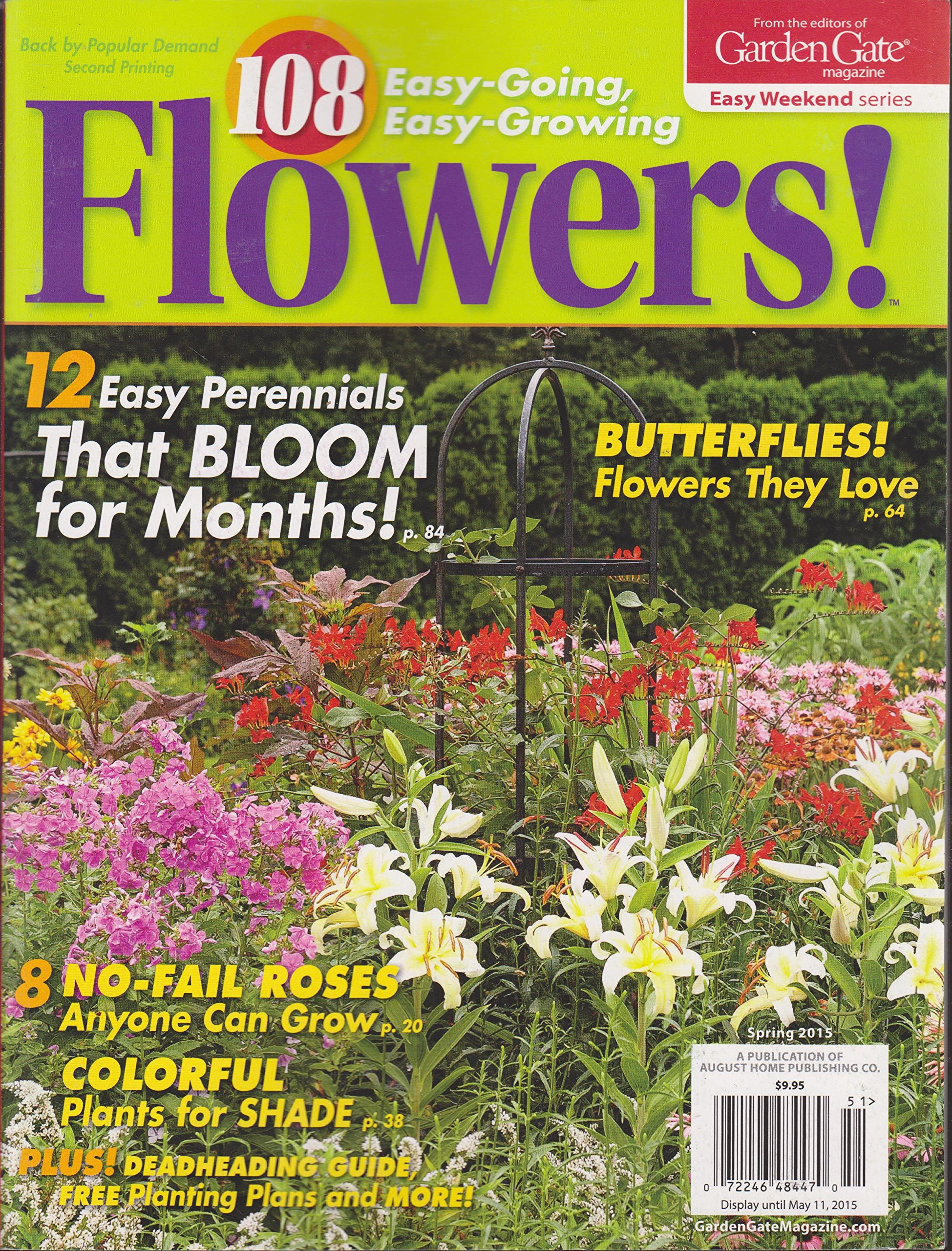 108 Easy Going Easy Growing Flowers Magazine Spring 2015 From