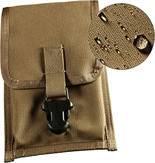 """product image for Rite in the Rain Weatherproof CORDURA Fabric Notebook Pouch, 5 3/4"""" x 9"""", Wasit-Clip Pouch, Tan Cover (No. C540F)"""
