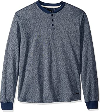 RVCA Lavish Henley - Camiseta de Manga Larga para Hombre: Amazon.es: Ropa y accesorios