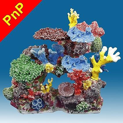 Amazon Com Instant Reef Dm032pnp Fish Tank Decorations Large