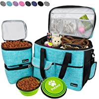PetAmi Dog Travel Bag | Airline Approved Tote Organizer with Multi-Function Pockets...