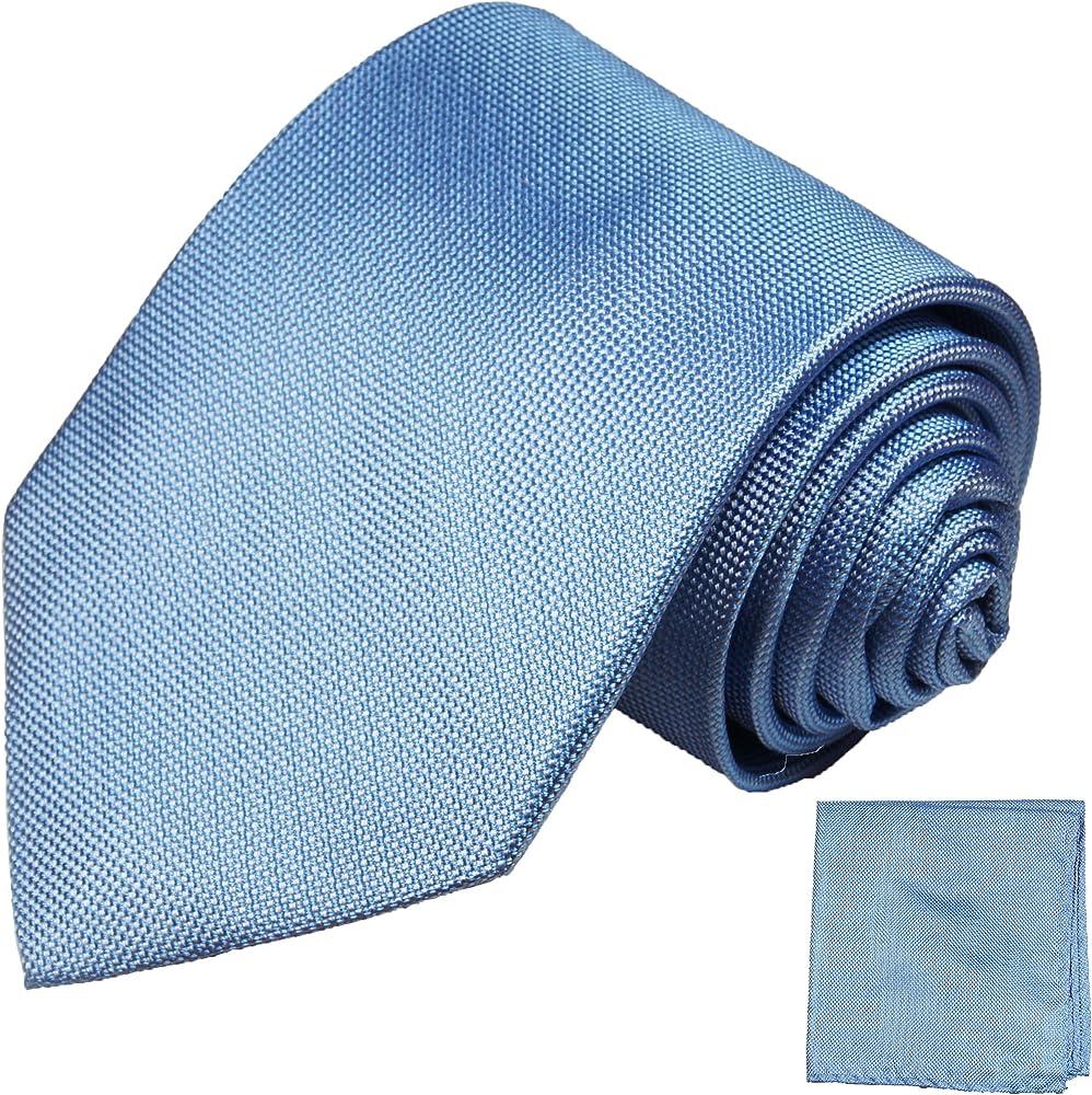 Juego de corbata azul 2 tlg 100% corbata de seda: Amazon.es: Ropa ...