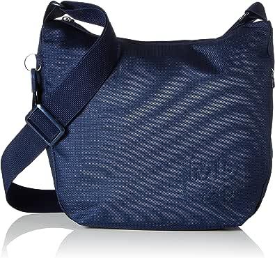 Mandarina Duck Md20 Tracolla, Bolsos bandolera para Mujer, azul, 10x26x29 cm (B x H x T)