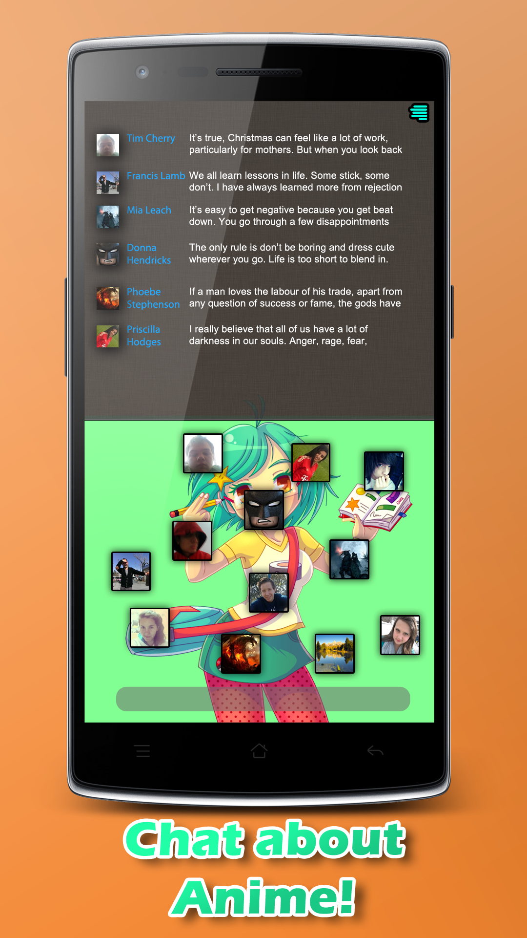 Amazon com anime chat appstore for android