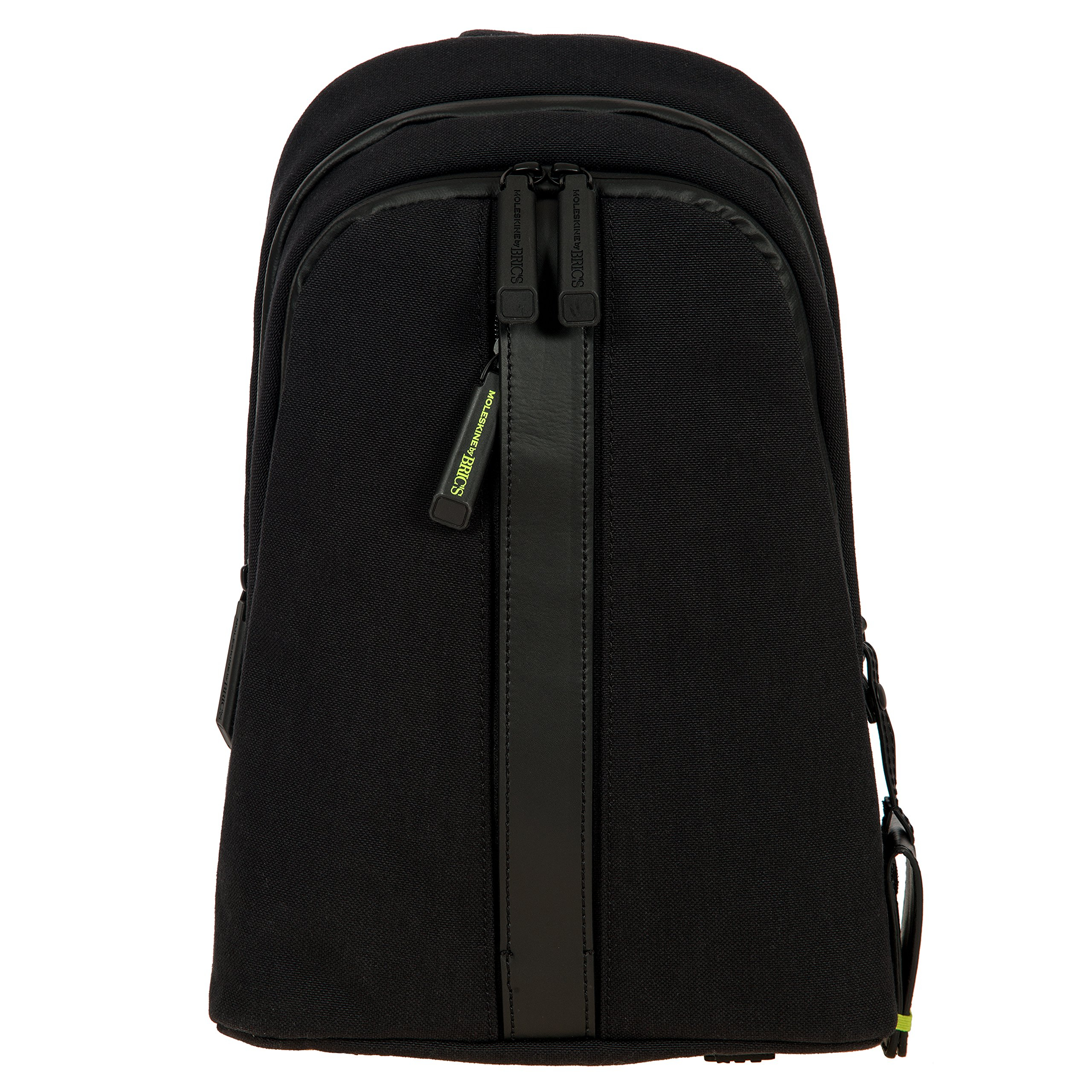 Bric's Men's Moleskine Bag Sling Backpack, Black, One Size by Bric's (Image #1)