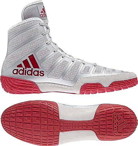 adidas adizero chaussures varner les chaussures adizero de catch, Rouge argent Rouge, taille 6b4ecf