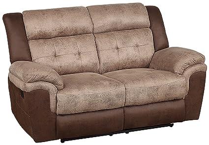 Amazoncom Homelegance 9980 2 Chai Double Reclining Love Seat