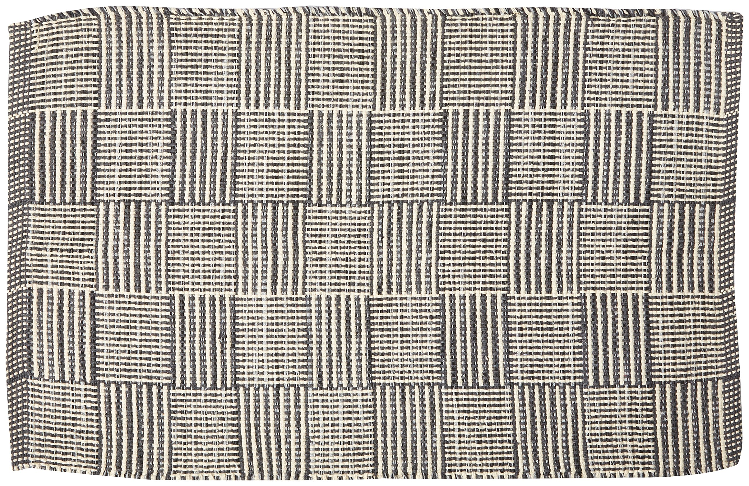 "DII Contemporary Reversible Indoor Area Rag Rug, Machine Washable, Handmade from Recycled Yarn, Unique For Bedroom, Living Room, Kitchen, Nursery and more, (20x31.5"") - Mint (Color may vary) - CHIC DESIGN - Average size is 2x3' size, 100% Cotton and machine washable, hang dry FIND THE RIGHT RUG FOR YOUR SPACE - Makes a perfect area rug, kitchen rug, bathroom rug, entry way rug, apartment rug, dorm room rug and more - available in an assortment colors DURABLE FOR EVERYDAY USE - Due to rag rug process, this area rug is long lasting and stands up to wear and tear - double sided for longer life - living-room-soft-furnishings, living-room, area-rugs - A1SZ63XPUoL -"