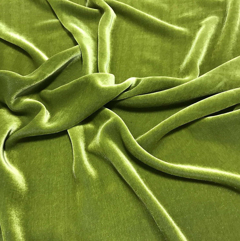 """Silk VELVET Fabric WHITE 9/""""x22/"""" remnant"""