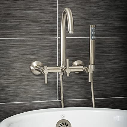 Luxury Clawfoot Tub Or Freestanding Tub Filler Faucet Modern Design