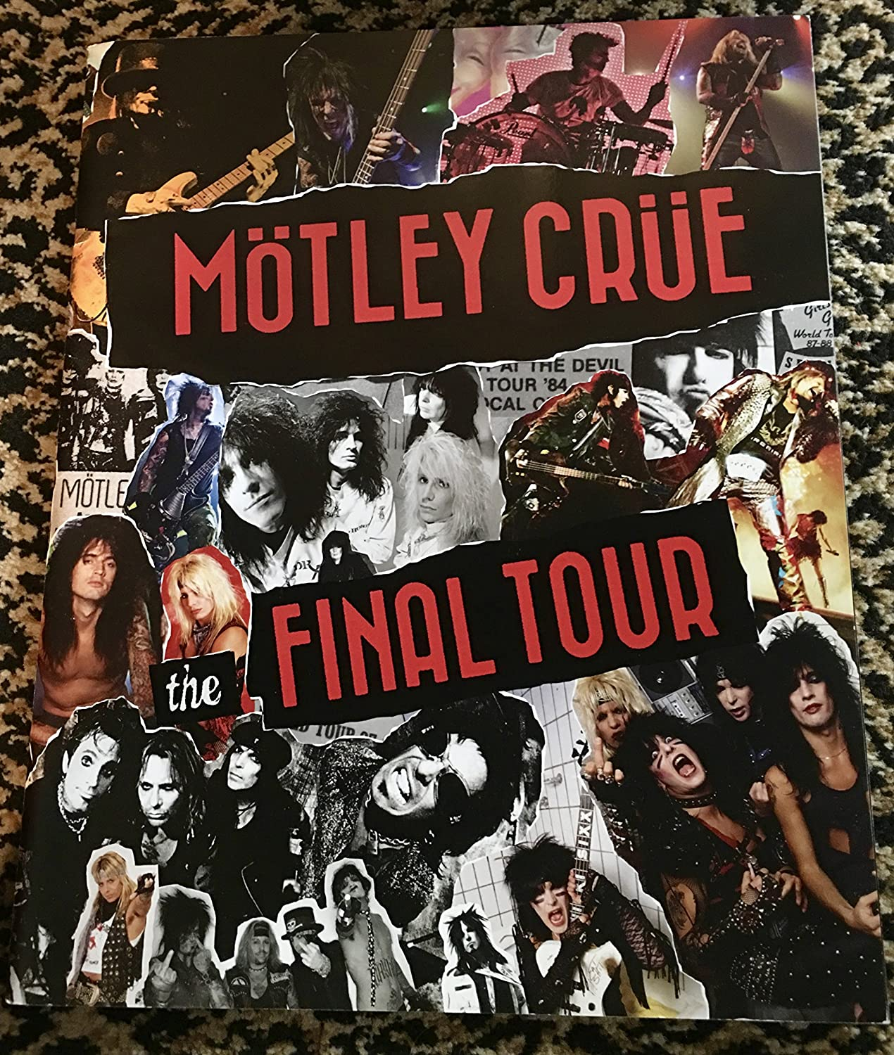 Motley Crue The Final Tour The Final Show Tour Book Signed By All