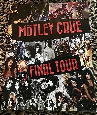 Motley crue the final tour the final show tour book signed by all motley crue the final tour the final show tour book signed by all members m4hsunfo