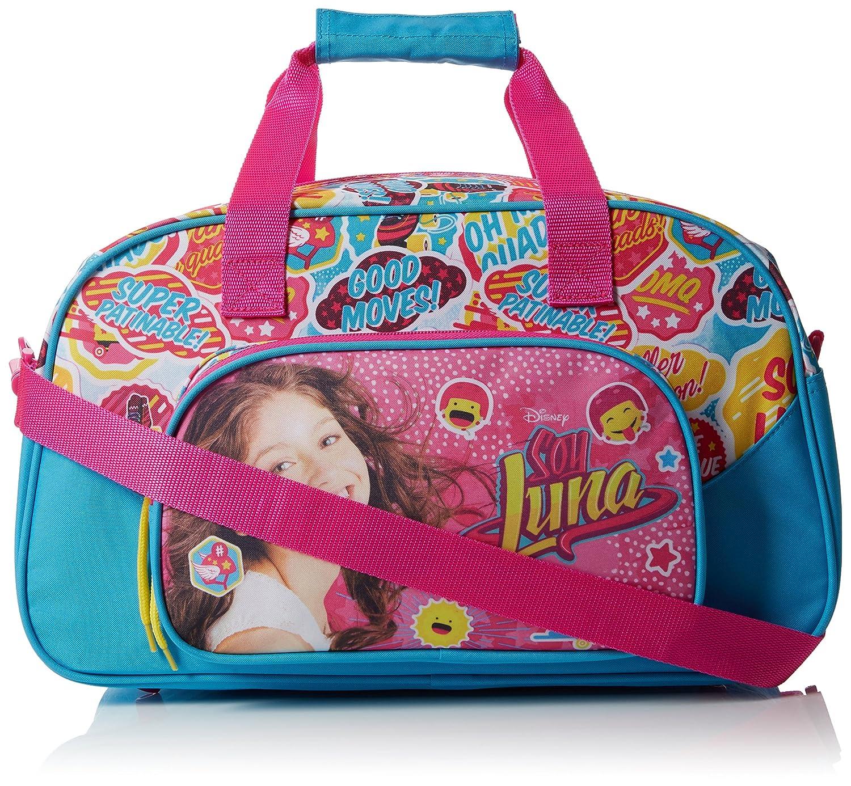 Soy Luna Sac de sport Premium 44cm Valigia per bambini, 44 cm, Rosa (Rose) 711626273