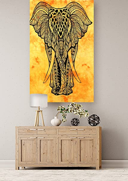 Buy Cotton Wall Decorative Hanging Wall Hanging Yoga Mat Wall Decor ...