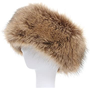 La Carrie Faux Fur Headband with Stretch Women s Winter Earwarmer Earmuff 1fcc7a37c856