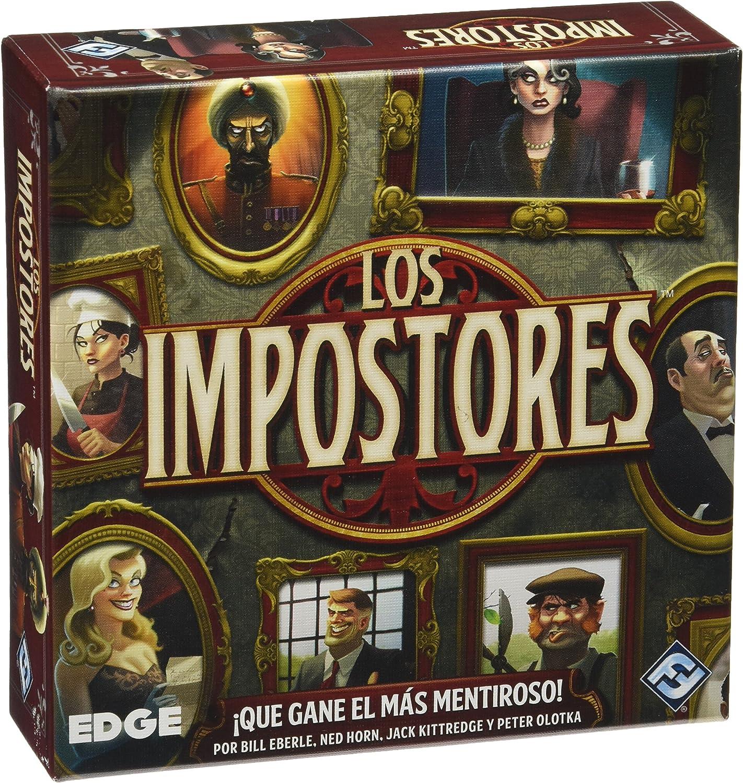 Edge Entertainment - Los Impostores EDGVA94: Amazon.es: Juguetes y juegos