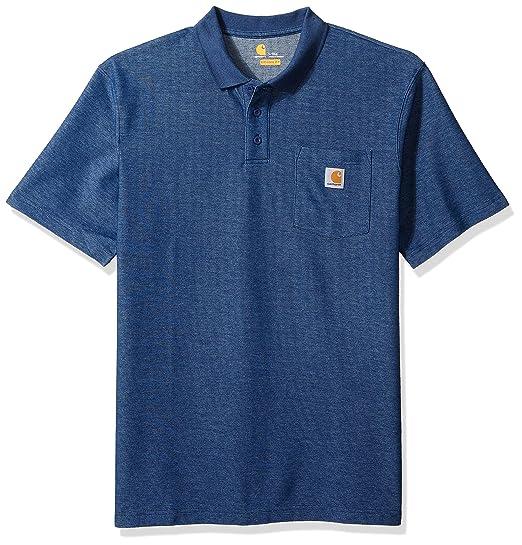 11ce26ea7351 Carhartt Men s Big   Tall Contractors Work Pocket Polo Original Fit K570
