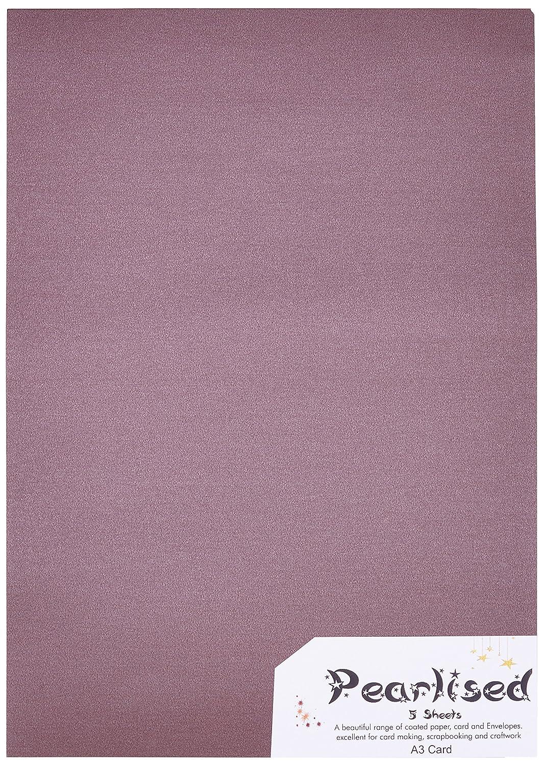 Carta perlata A3–Bon (confezione da 5) Pearlised 1990P5