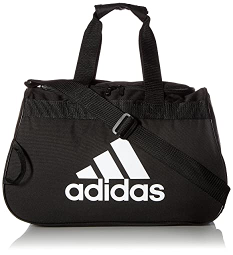 6fd4e1d41711 Image Unavailable. Image not available for. Colour  Adidas Diablo Polyester  Black Duffle Gym Bag