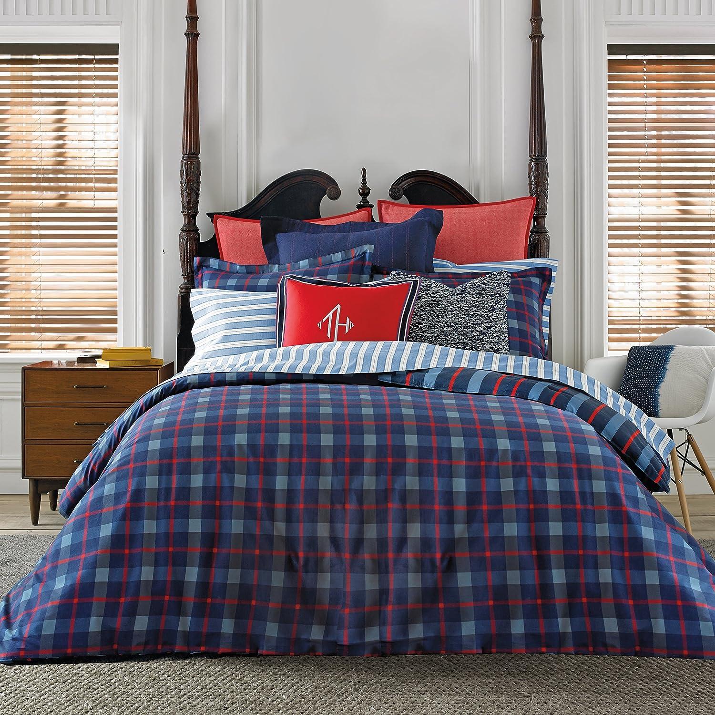 Tommy Hilfiger TH Boston Plaid T/TXL Comforter Set Twin/Twin X-Large Multi
