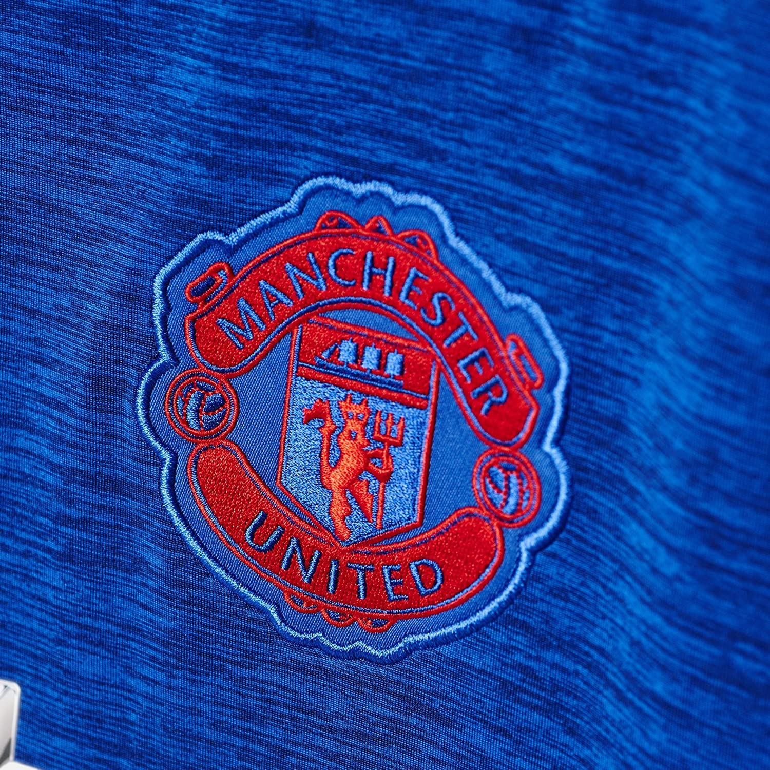 Collegiate Royal//Real Red adidas Manchester United Away Soccer Stadium Jersey 2016-17