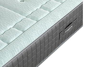 Dulces Sueños Pack COLCHON VISCOELASTICO Premium + Base TAPIZADA 3D + Patas + 2 Almohada VISCO(70) (150 x 190) PROMOCIÓN: Amazon.es: Hogar