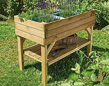 1 Set Hochbeet Kieferholz Mit Hochbeetgrundfullun Kompost Und