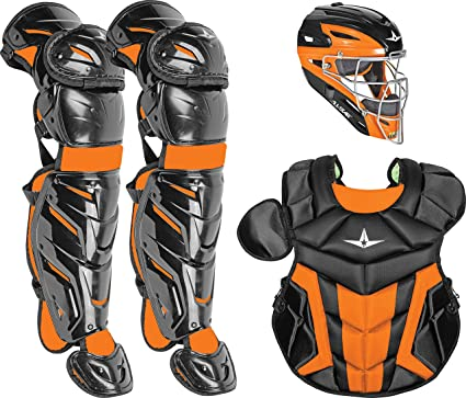 cdf387354048 Amazon.com   All-Star Youth System7 Axis Elite Pro Catcher s Set ...