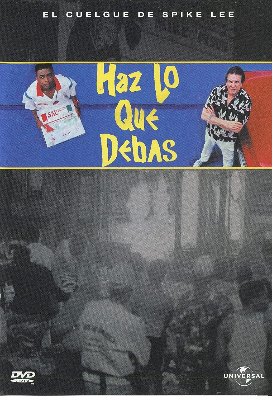 Haz Lo Que Debas Dvd Amazon Es Danny Aiello Ossie Davis Ruby Dee Richard Edson Spike Lee Giancarlo Esposito Bill Nunn John Turturro Paul Benjamin Spike Lee Cine Y Series Tv