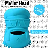 Lord Anson™ Mullet Head Interactive Dog Toy - Treat Dispensing Dog Puzzle Toy - Pet Chew Toy for Separation Anxiety, Boredom, and Fetch
