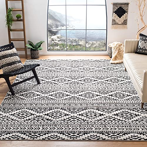 Safavieh Tulum Collection TUL272B Boho Moroccan Distressed Area Rug