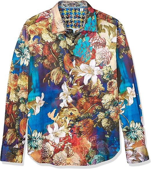 Robert Graham Mens Paice L//S Woven Shirt