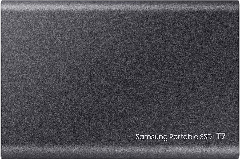 MU-PC1T0T//WW 1 TB USB 3.2 Gen.2 Externe SSD Titan Gray Samsung T7 Portable SSD