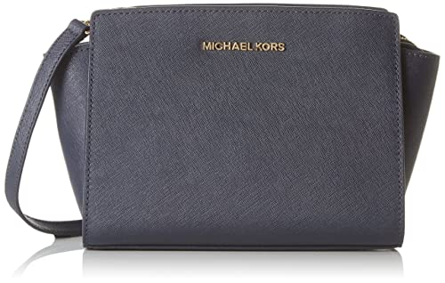 41a2f13640ca Image Unavailable. Image not available for. Colour  Michael Kors 30T3GLMM2L Womens  Selma Satchel Blue (Admiral)