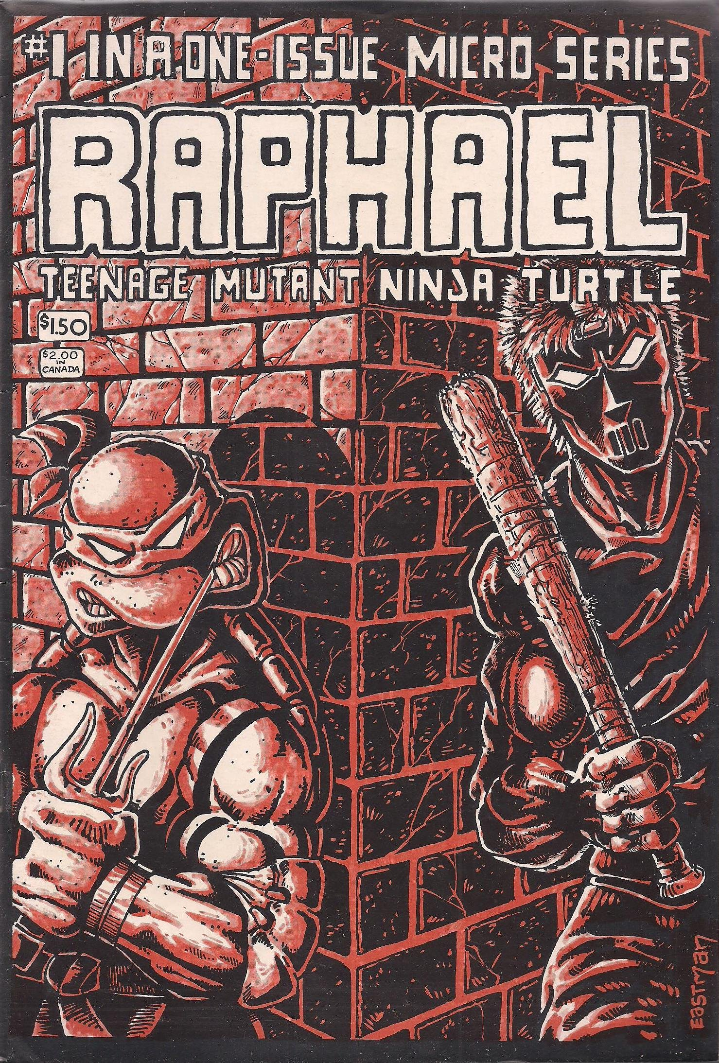 Amazon.com: Raphael: Teenage Mutant Ninja Turtles, No. 1: Kevin B. Eastman, Peter A. Laird: Books