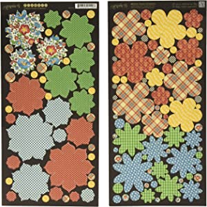 Graphic 45 Mother Goose Flowers Card Stock Sheets