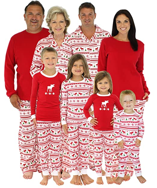 775745b48873 SleepytimePjs Doll Nightgown Moose Family Matching Pajamas-Doll ...