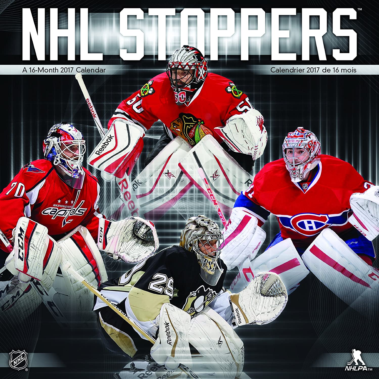 STOPPERS Goalies Torwart Kalender Wandkalender NHL Eishockey 2017 Turner Licensing