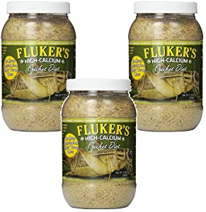 Fluker's High Calcium Cricket Diet, 11.5-Ounce (3 Pack)