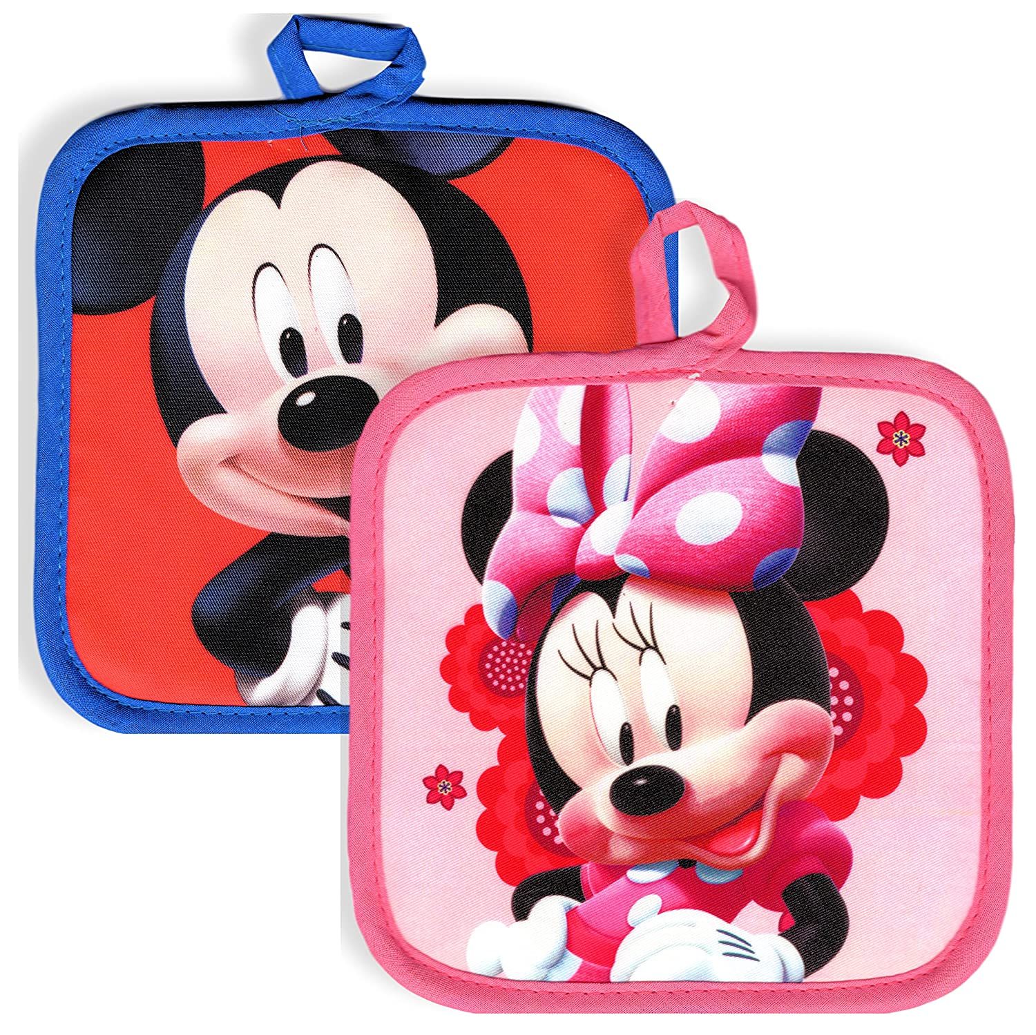 Amazon Com Disney Minnie Mouse And Mickey Mouse Kitchen Set 1