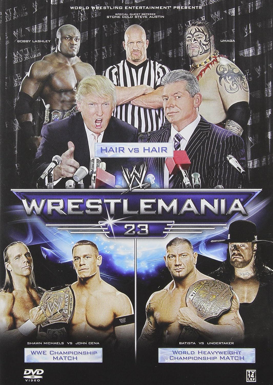 Wwe: Wrestlemania 23 [Reino Unido] [DVD]: Amazon.es: Cine y Series TV