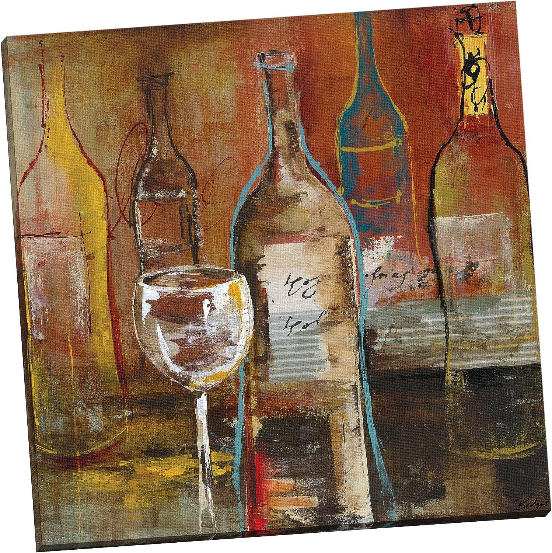 Portfolio Canvas Decor Wine Cellar Ii By Bridges Wrapped Stretched Canvas Wall Art 24 X 24 Posters Prints Amazon Com