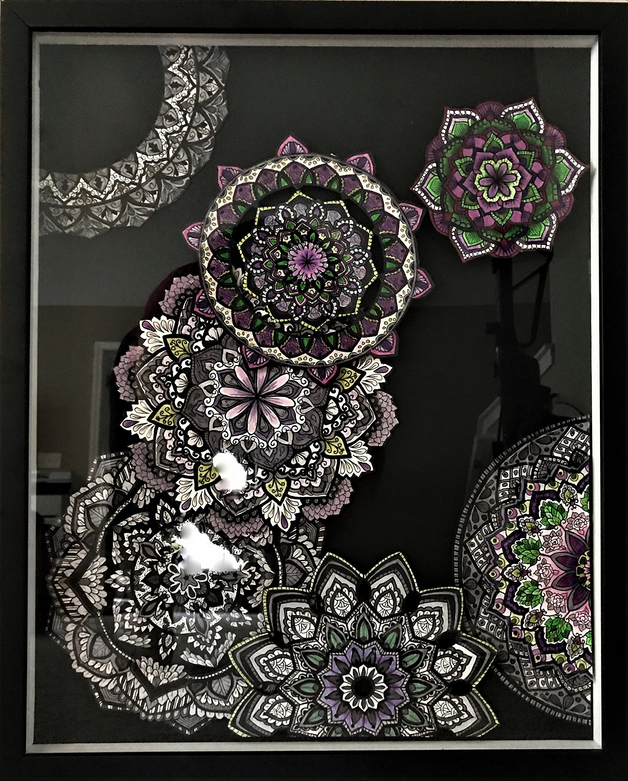 Mandala 3D Art by Art by Michele Rosa