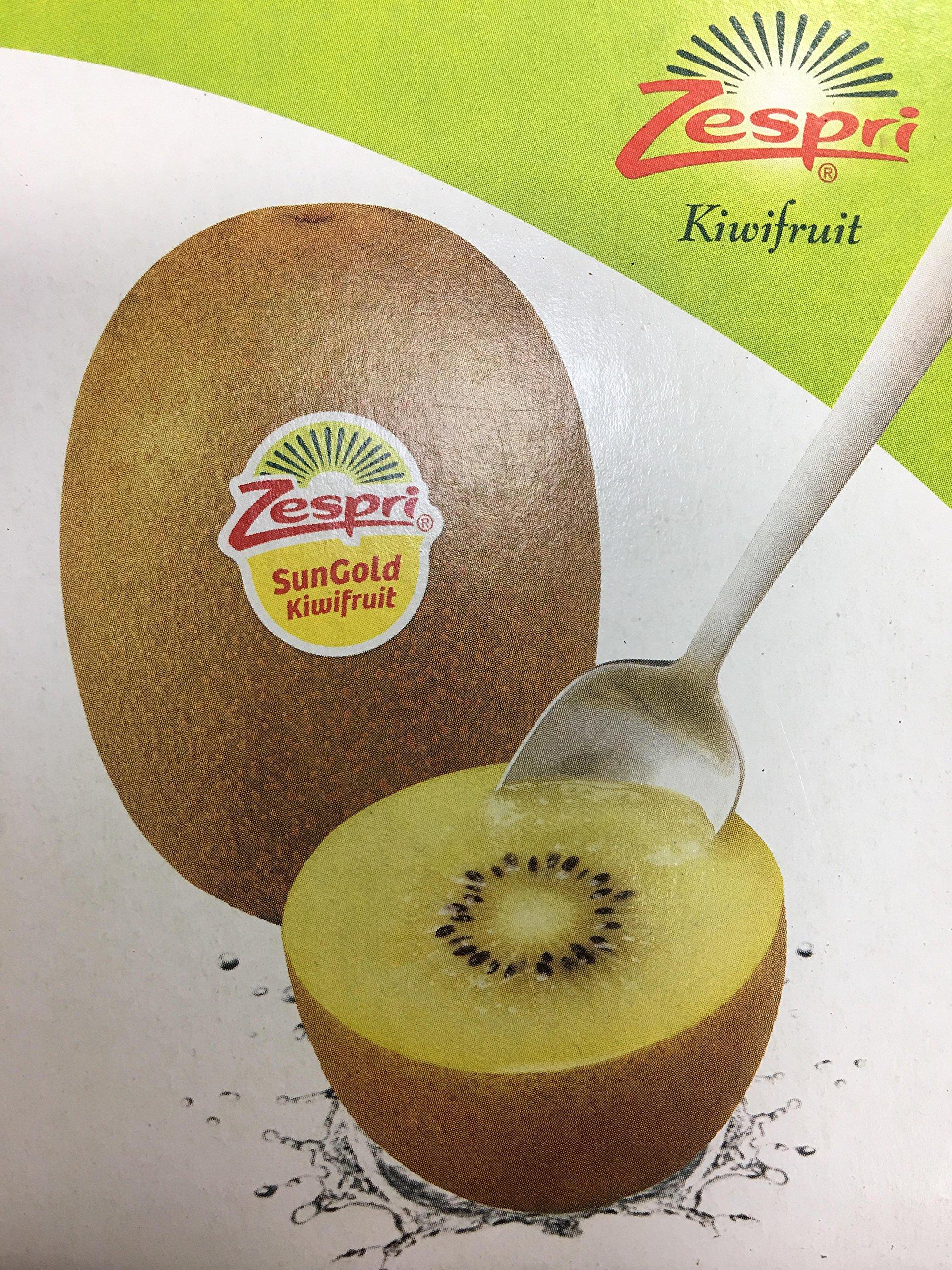 Sungold New Zealand Tropical Kiwi Fruit 4 lbs by Zespri (Image #1)