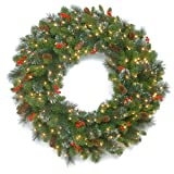 National Tree 30 Inch Crestwood Spruce Wreath