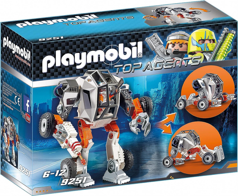 Playmobil 9251 - Robot Agent T E C s Mech, figura de juguete ...