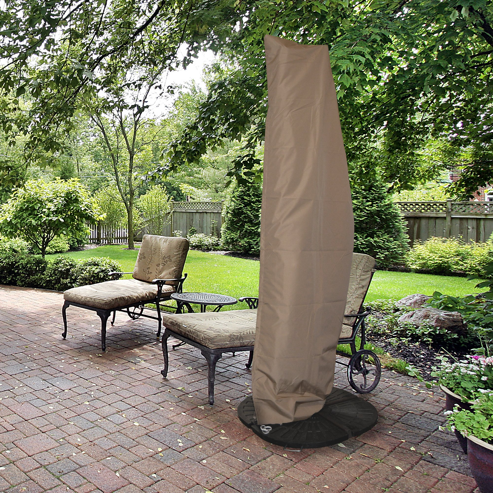 Island Umbrella NU5512 All-Weather Protective Umbrella Cover-Fits 10' to 13' Cantilever Umbrellas by Island Umbrella