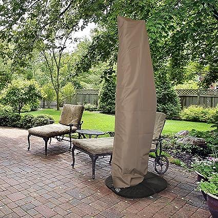 Amazon.com : Island Umbrella NU5512 All-Weather Protective Umbrella ...